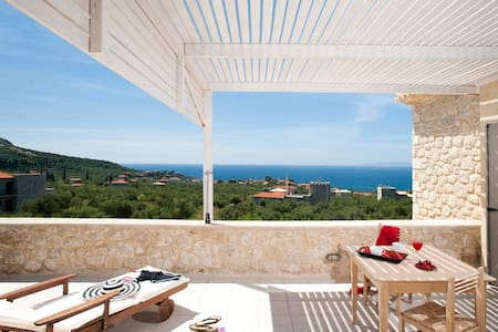 Poliana Estate - Sea view with Pool