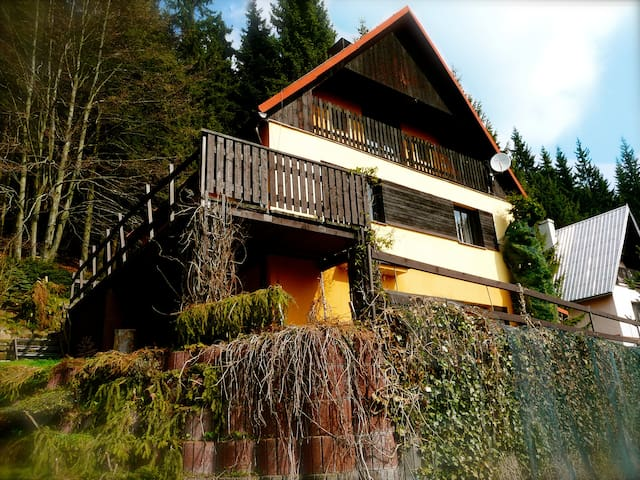 Comfortable cottage in the Mountain - Jáchymov - Chalet