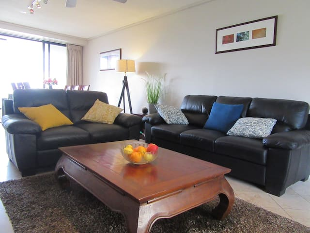 Coolum resort bedroom with ocean view/pool/spa/gym - Coolum Beach - Boutique hotel