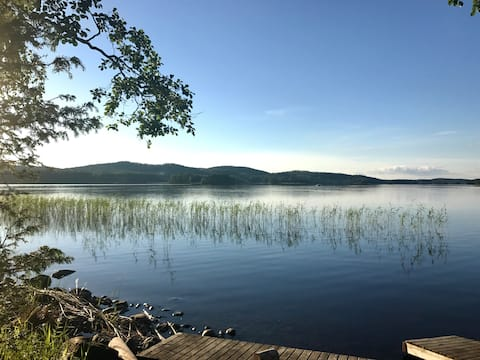 Beautiful Cottage at Lake Saimaa