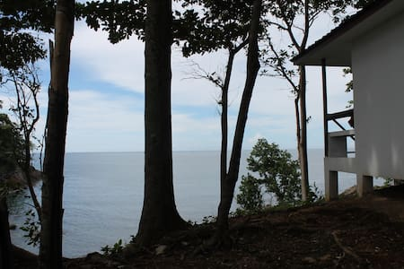 Bungalow on a cliff top