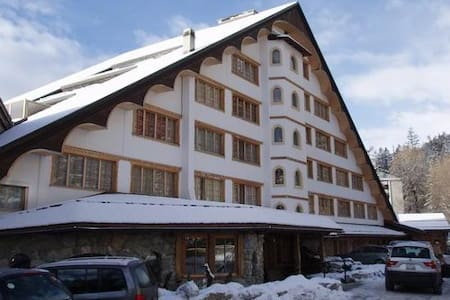 4*** hotel apartment with pool! - Crans-Montana - Apartamento