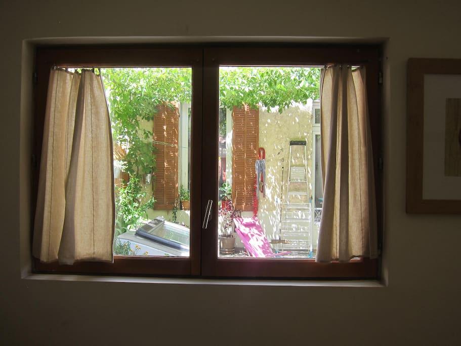 La Terrasse vue de la Chambre / The Terrace from the Bedroom