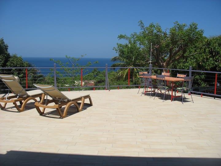 JOU facing the sea beautiful house