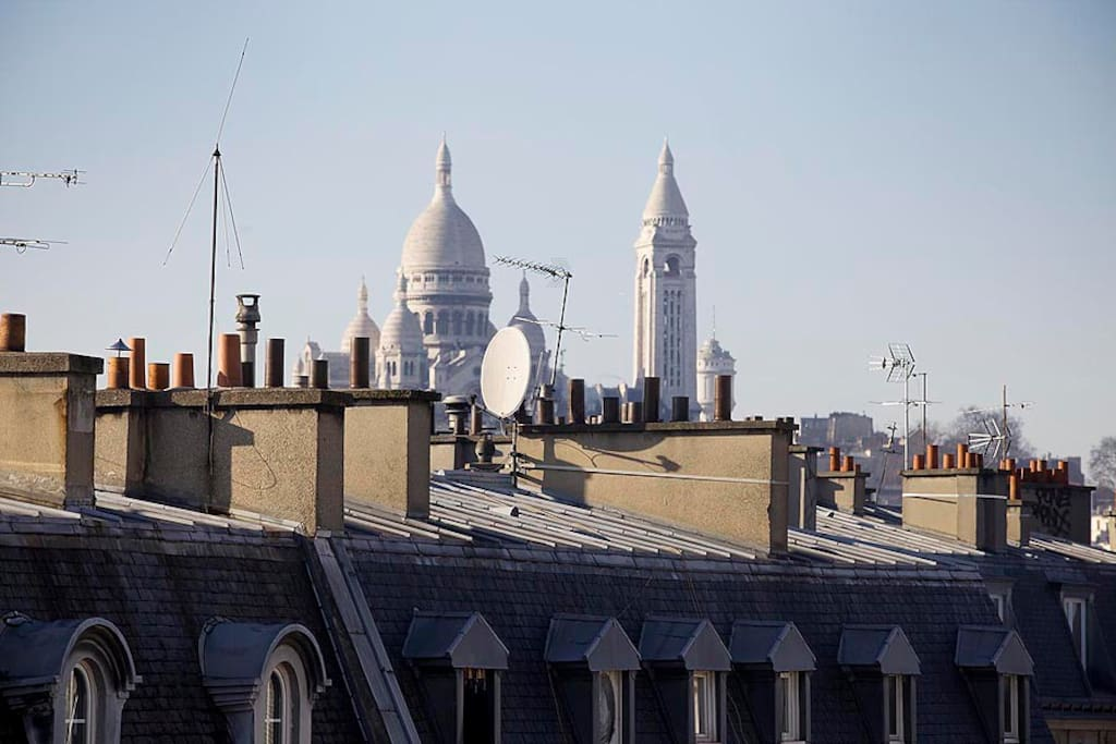paris sunny roof top apartment apartments for rent in paris le de france france. Black Bedroom Furniture Sets. Home Design Ideas