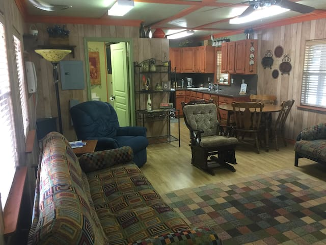 Living / dining / kitchen area