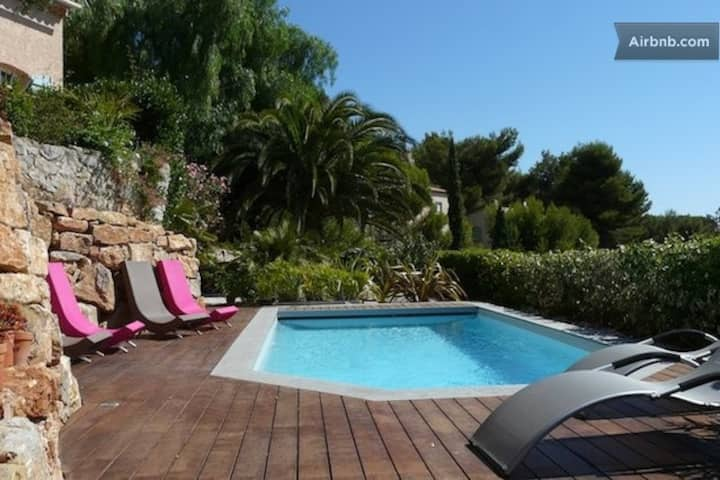 T2 50m2 + pool, Hyères,Côte d'azur