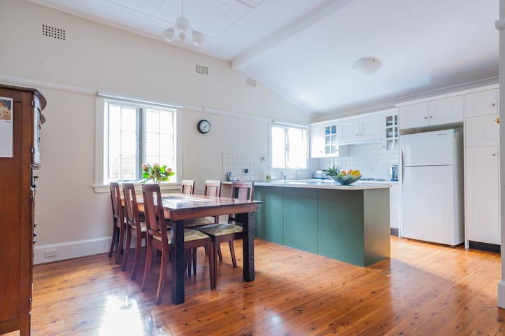 Charming family house with garden - Drummoyne - Hus