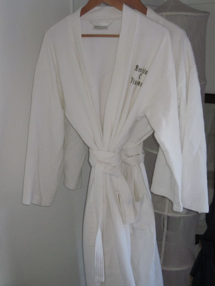 Rocking K Spa Robes in every room!