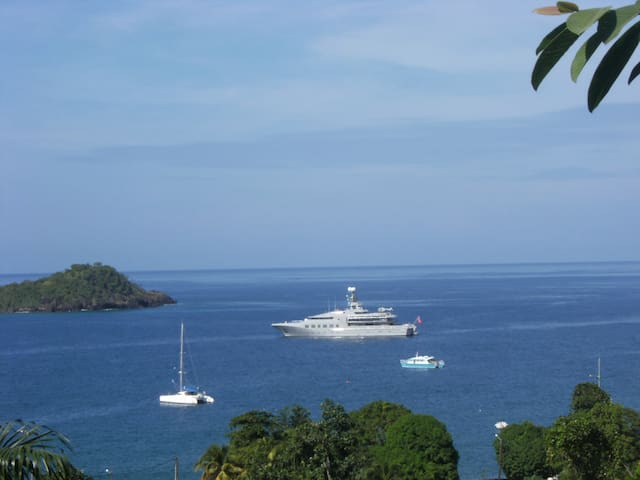 bungalow de charme superbe vue mer  - Bouillante - Haus