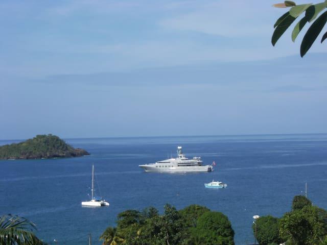 bungalow de charme superbe vue mer  - Bouillante - Ev