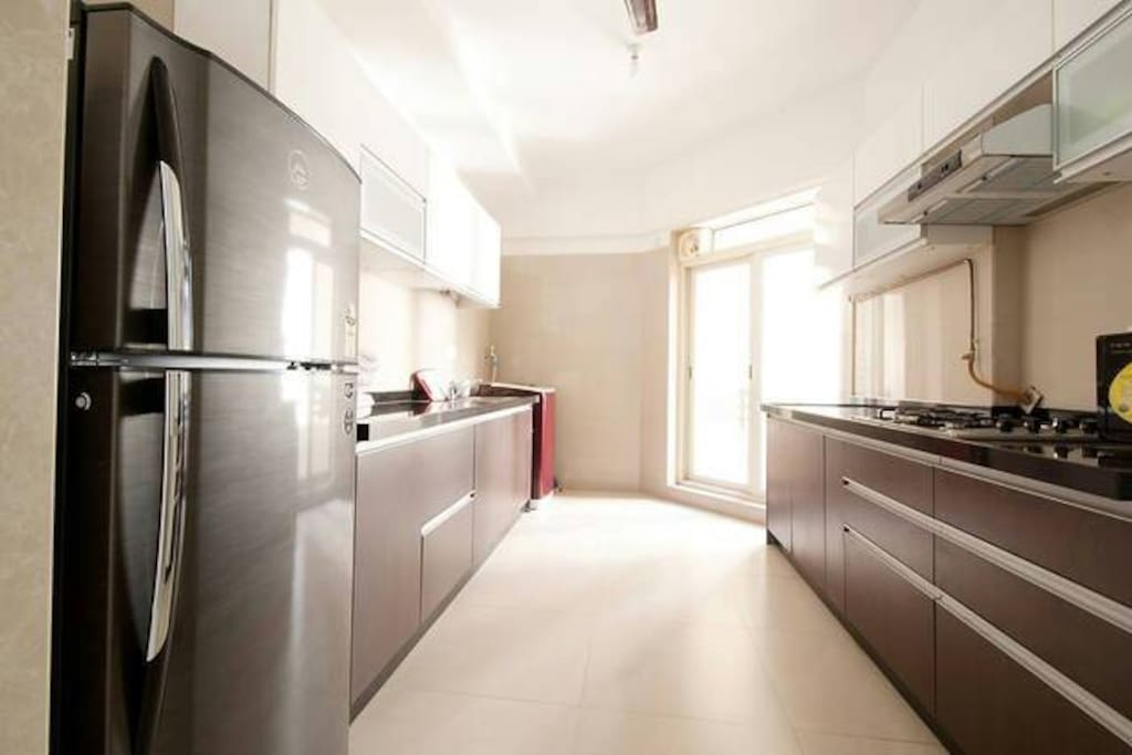 Functional and facilitated kitchen