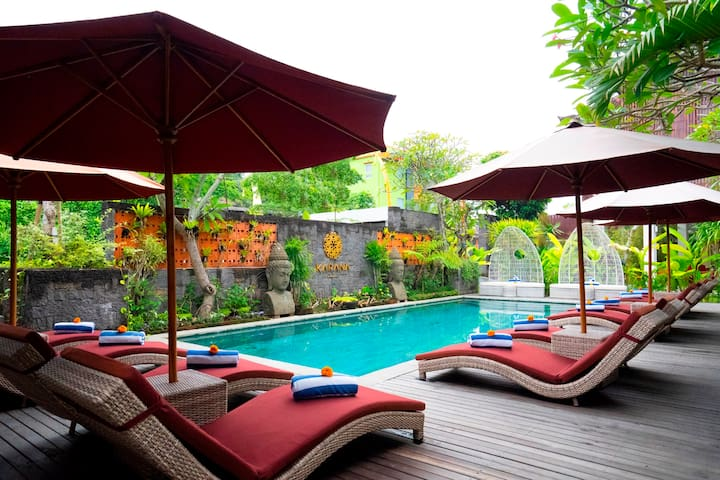 Best Deluxe Room near Batuan Temple Ubud