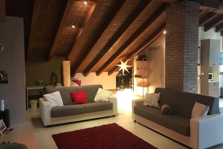 Pretty attic half an hour from Milan
