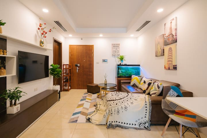 Cozy 2BR Apartment/City view/KITCHEN