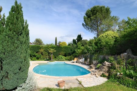 Charming room near Aix en Provence - Châteauneuf-le-Rouge - Huvila