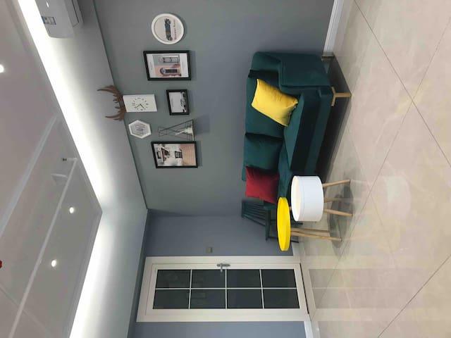 北欧-精装大床房 温馨舒适 干净整洁