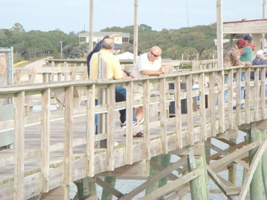 Yaupon pier