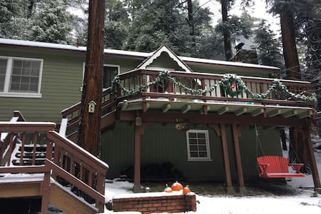 Relaxing Cozy Lake Gregory Cabin - Crestline