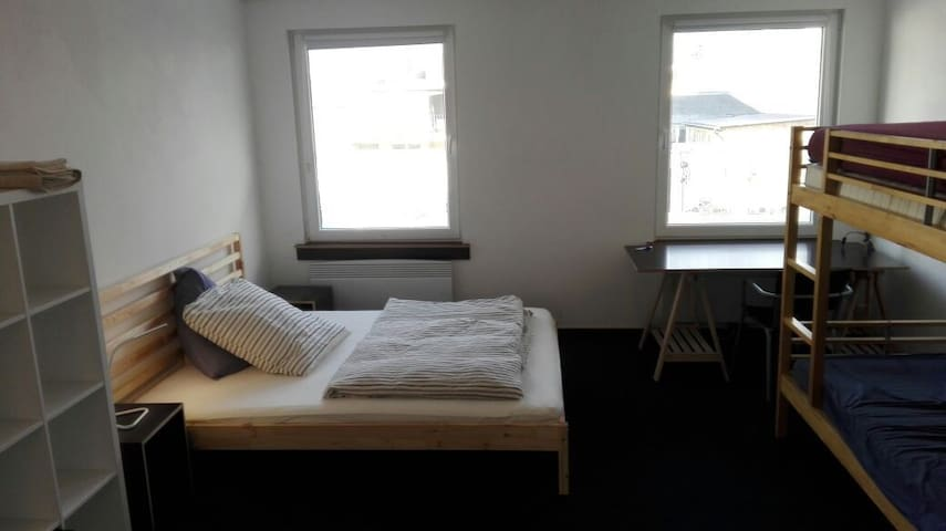 Room 22m² for friends/workmates/a family (up to 4)