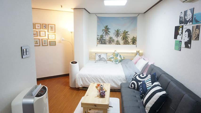 #New Open# Cozy Private Studio - Gangnam-gu - Apartament