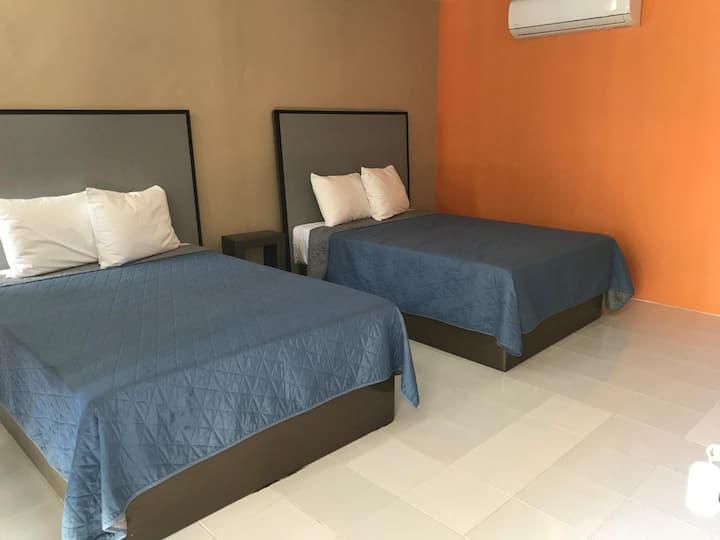 Hotel con alberca en Bahías de Huatulco