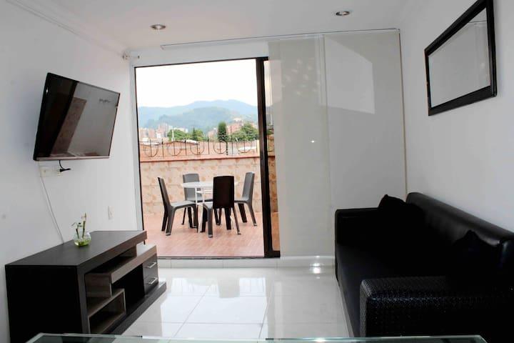 Hermoso apartamento 3 habitaciones  con terraza