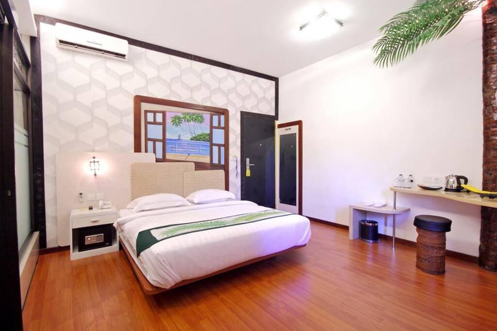 Hawaii Bali,Kuta Deluxe Room Only A