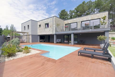 Casa da Gateira - 4 suite bedroom with heated pool