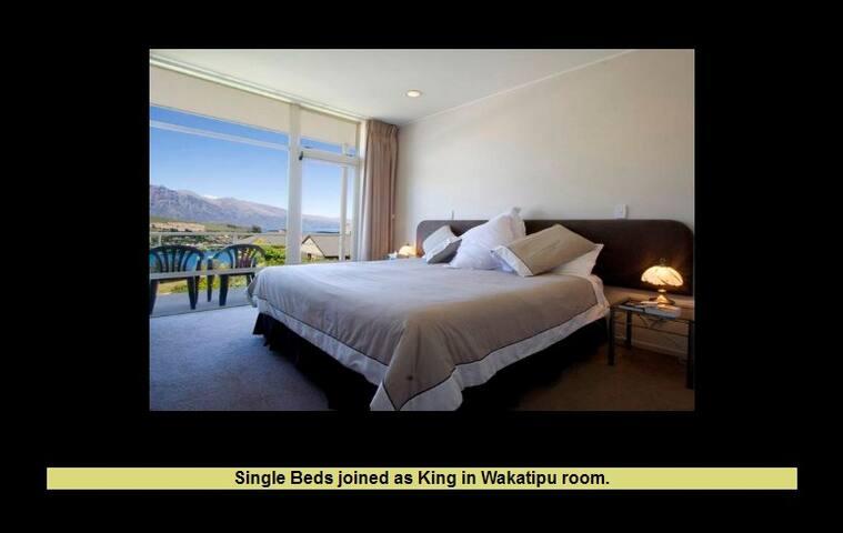 Wakatipu room has a magic view - Queenstown - Casa
