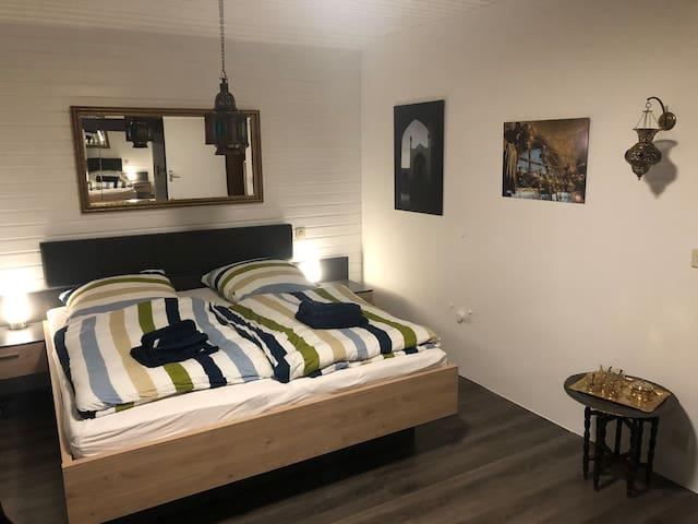 Schlafzimmer für zwei im orientalischen Style