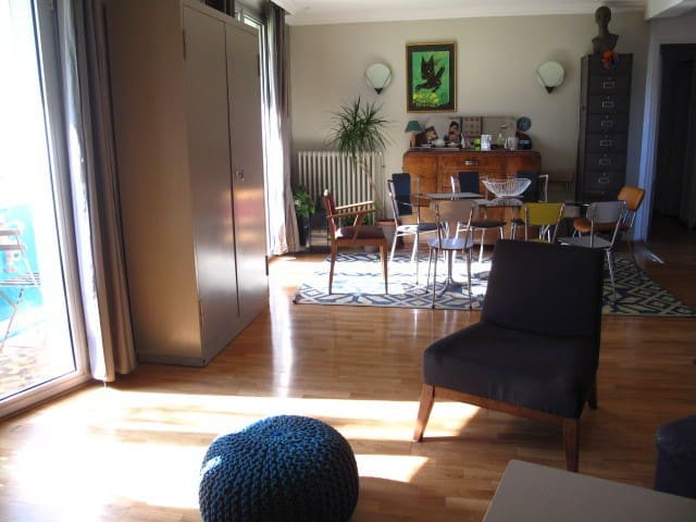 Cosy Appartment with parc view - Toulouse - Huoneisto