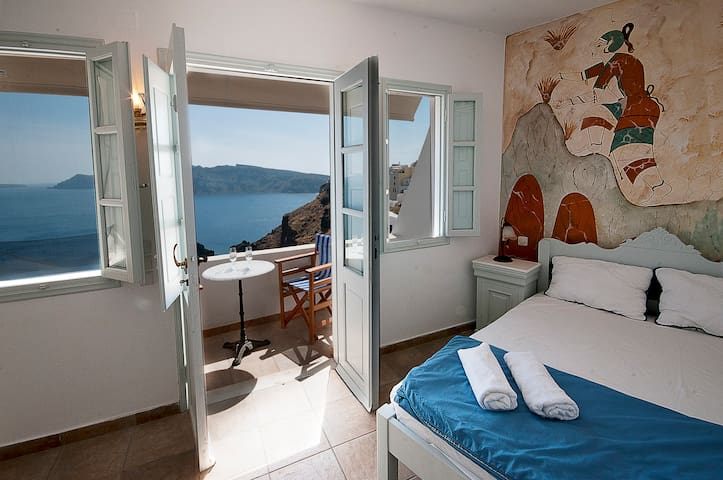 Studio 2 persons Oia Amazing view!! - Oia - Appartement