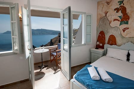 Studio 2 persons Oia Amazing view!! - Oia - Departamento