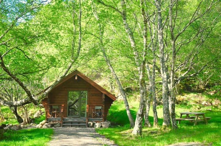 Cabin Edal, Tigh Brachen Bothies, Diabaig Torridon