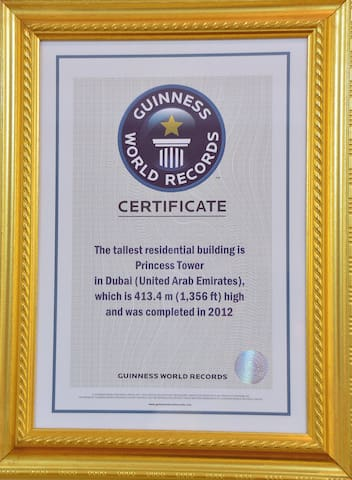 Guinness world record tallest residential building in the world