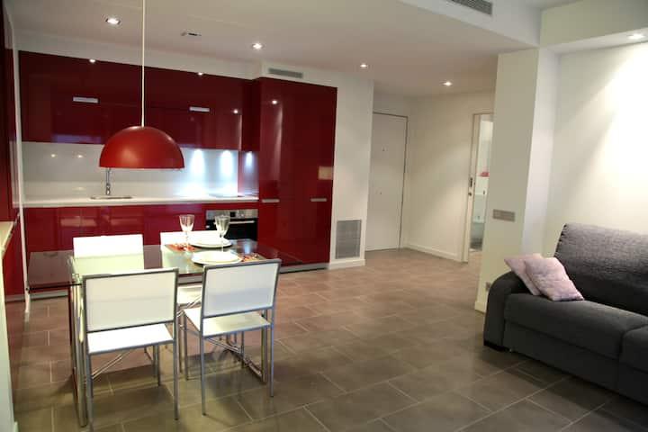 New modern apt. w/ commun terrace