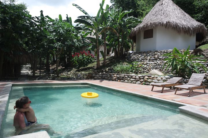 Nature, river and swimming pool, Finca Carpe  Diem - Minca