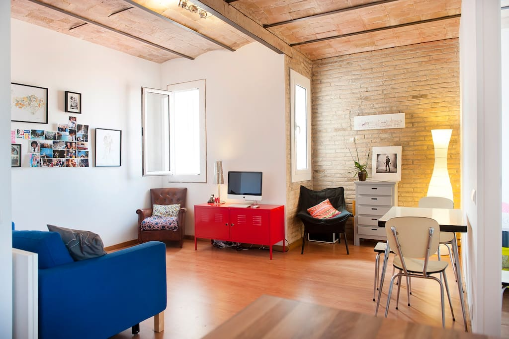 Cosy Quiet City Center Wifi Apartments For Rent In Barcelona Catalonia Spain