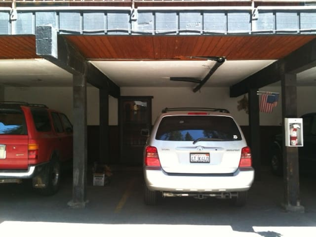Covered Parking outside of unit front door