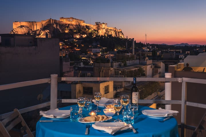 ALC Breathtaking Parthenon View