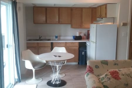 NO CLEANING FEES KING 1 BEDROOM APARTMENT KITCHEN