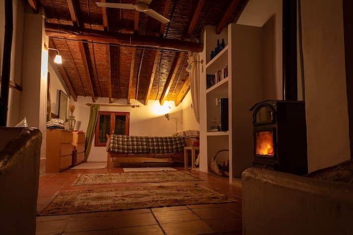 2nd floor bedroom 3 in the winter