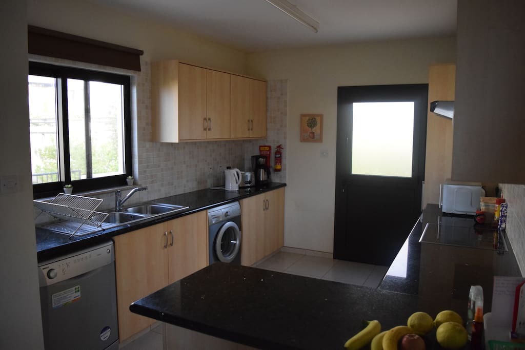 Well equipped Kitchen with Dish Washer, Washing Machine, Large Fridge Freezer, Microwave and much more......