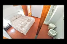 Bedroom 2 with A/C and private bathroom and shower
