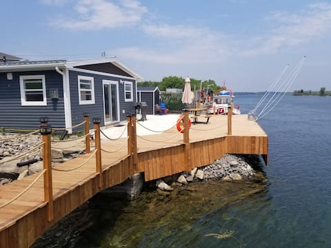 New Build! 15 feet from the majestic St Lawrence