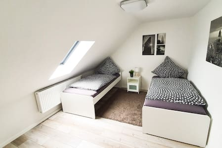 Modernes Apartment zwischen den Metropolen