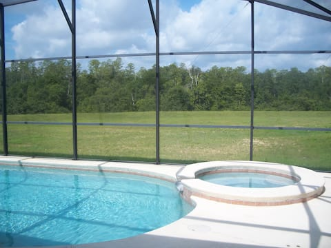 5 BR House with Pool near Disney and Golf Club