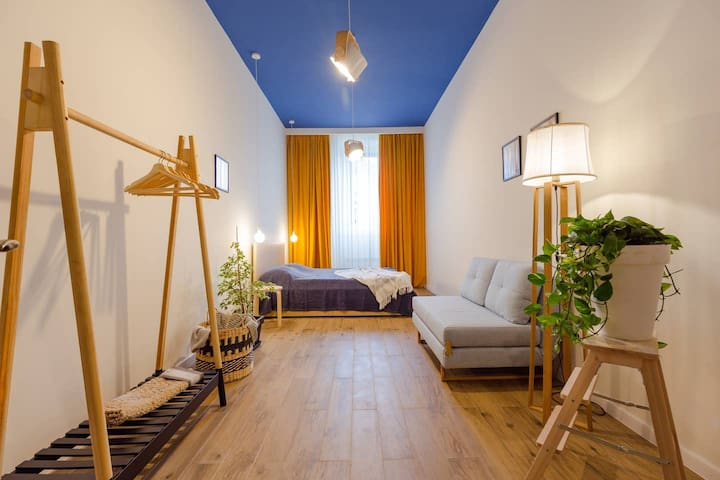 ✽Stylish and cozy 1 BR apartment in sunny Batumi✽