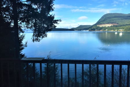 Eagles Watch Ocean Front B and B, Auke Bay, Juneau